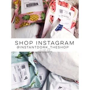 Check out the shop Instagram